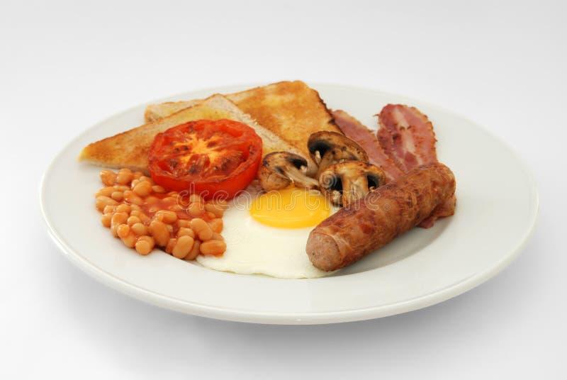 Pequeno almoço inglês cheio imagens de stock