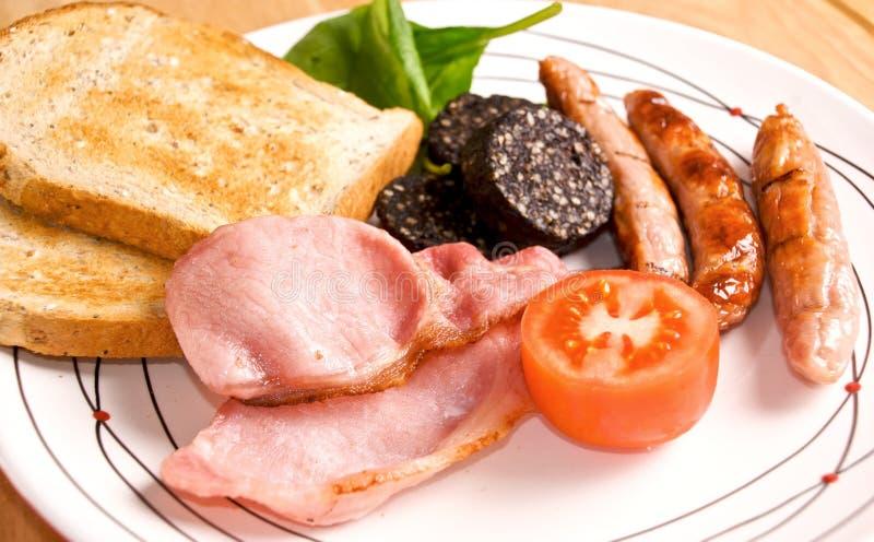 Pequeno almoço irlandês cheio fotos de stock royalty free