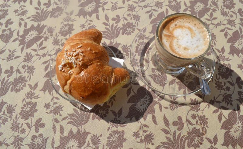 Pequeno almoço italiano fotos de stock royalty free