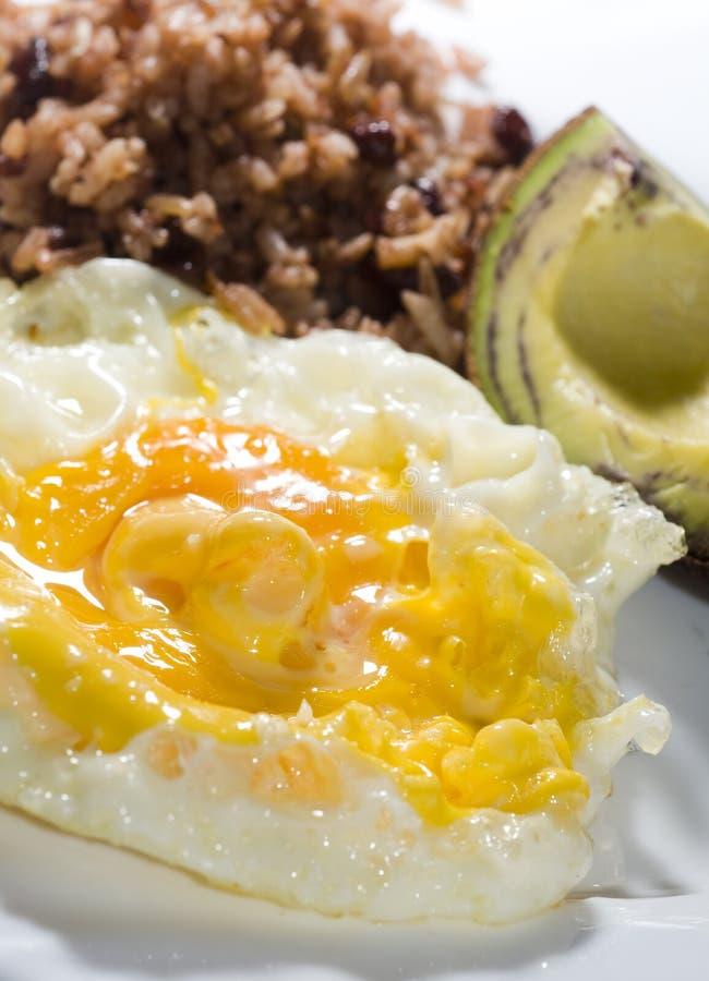 Pequeno almoço nicaraguense imagens de stock royalty free