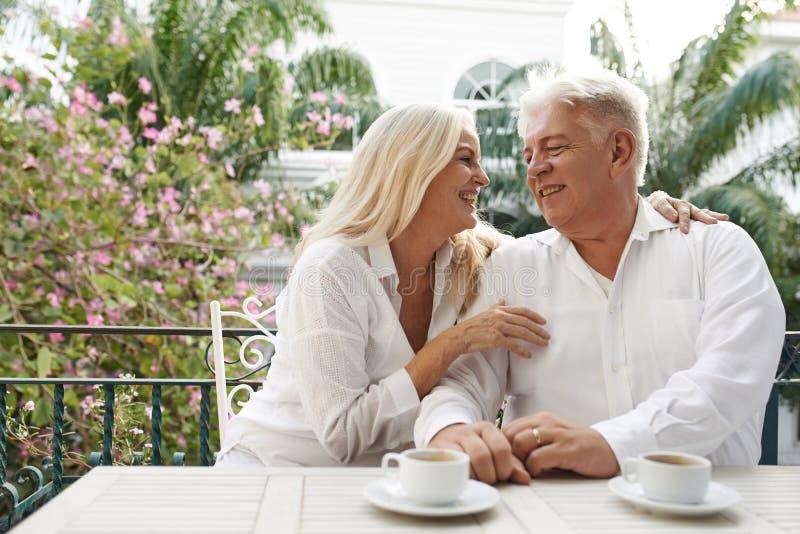 Pequeno almoço romântico fotografia de stock royalty free