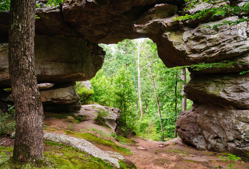 Pequeno Jean State Park foto de stock royalty free