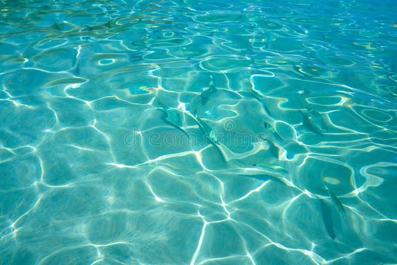 Pequeno praia de Ibiza Portinatx Arenal em Balearics imagem de stock