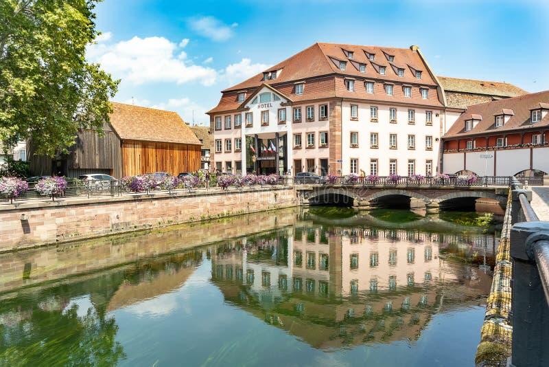 Pequeno quarto de França em Strasbourg imagens de stock
