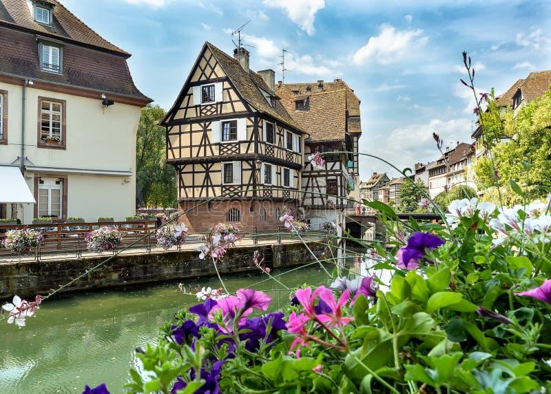 Pequeno quarto de França em Strasbourg foto de stock royalty free