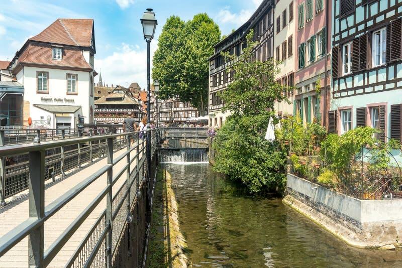 Pequeno quarto de França em Strasbourg imagem de stock royalty free