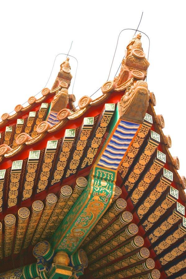 Pequim chinês antigo China do museu do palácio fotos de stock