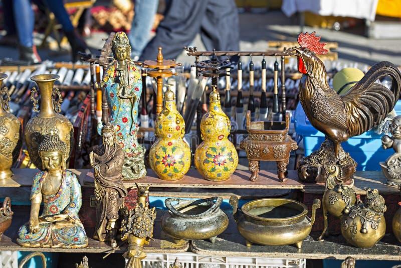 Pequim do chinês de buddha das estátuas fotos de stock