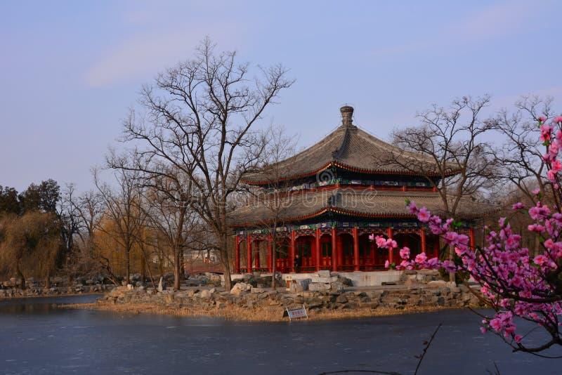 Pequim a paisagem do palácio de verão imagem de stock royalty free