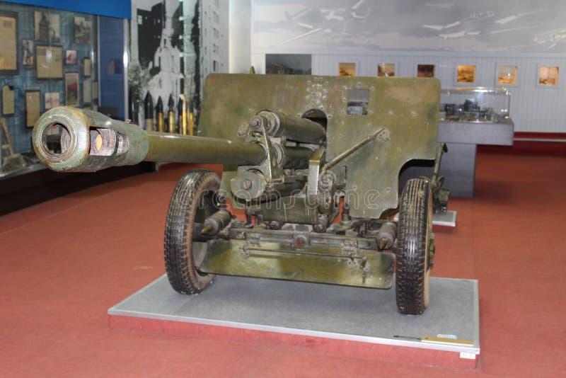 Período de Canon da segunda guerra mundial foto de stock