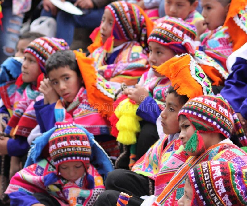 Perú, Cuzco, en el camino fotos de archivo libres de regalías