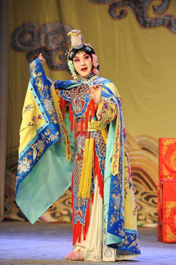 per agghindarsi per essere donne: Opera-addio di Pechino al mio concubine fotografia stock