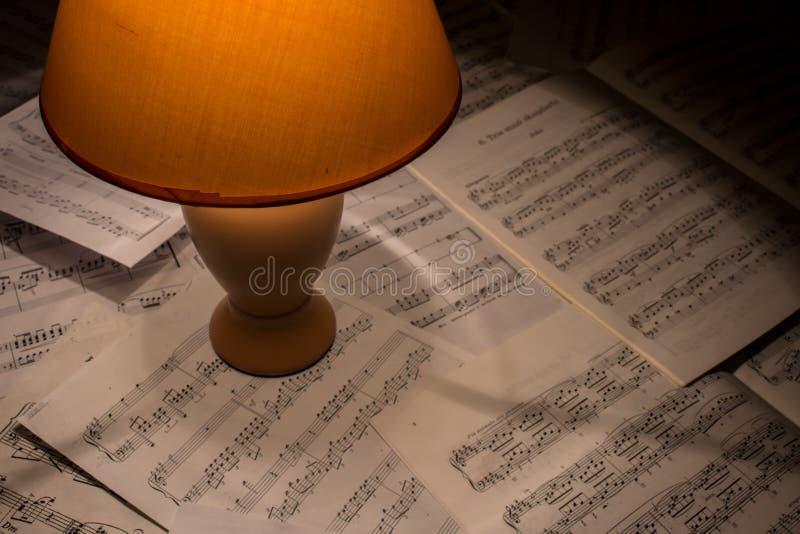 per comporre musica immagine stock libera da diritti