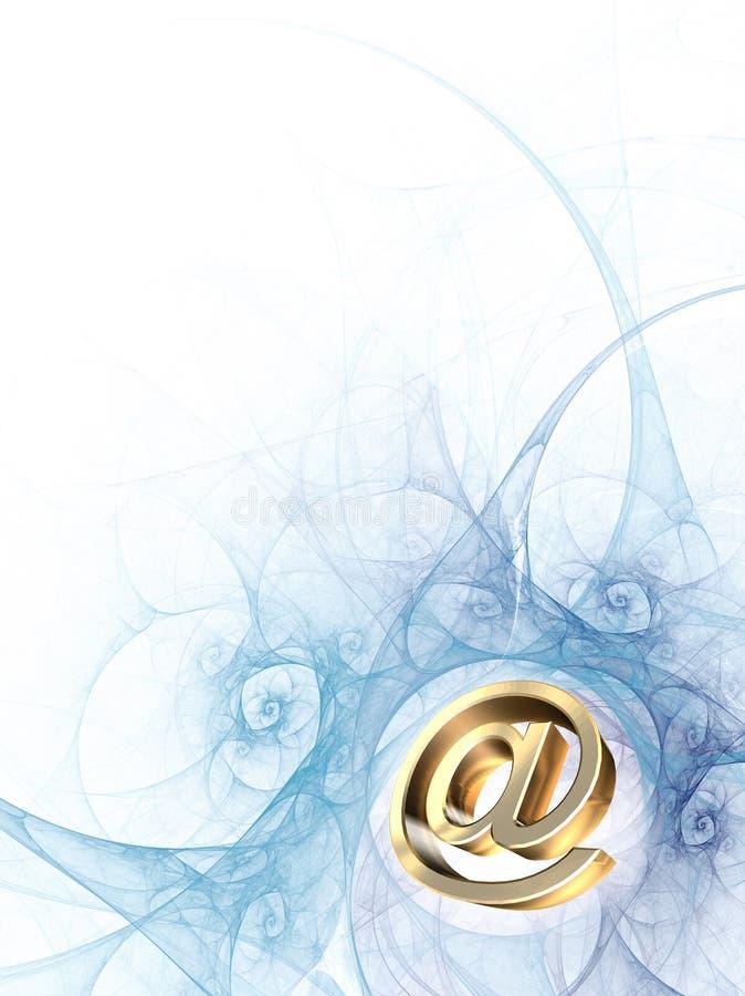 Per e-mail versturen royalty-vrije stock foto
