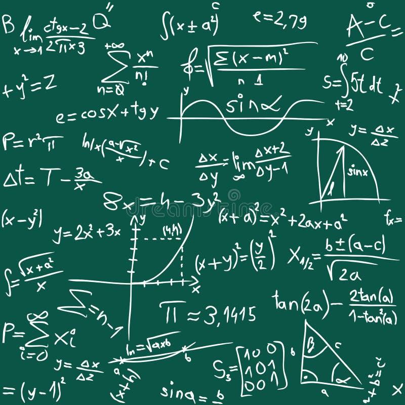 Per la matematica illustrazione vettoriale