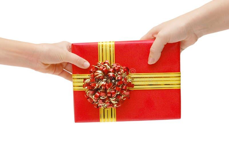 Per per passare un regalo fotografie stock