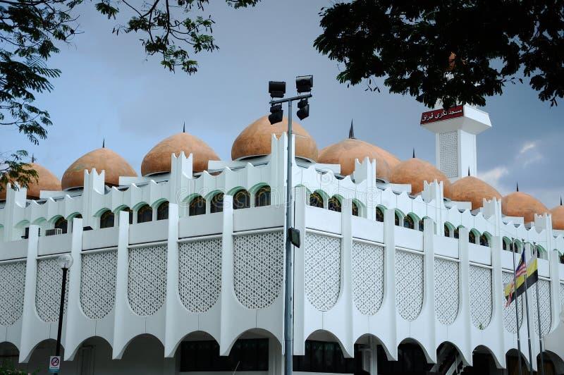 Perak-Staats-Moschee in Ipoh, Perak, Malaysia stockfotos