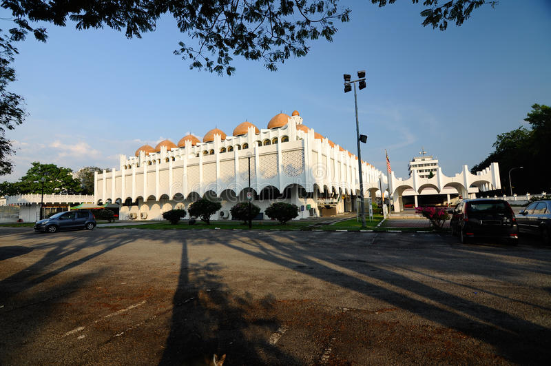 Perak-Staats-Moschee in Ipoh, Perak, Malaysia stockfoto