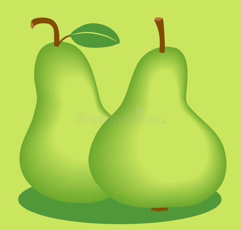 Download Peras ilustração do vetor. Ilustração de nutrition, maduro - 53541