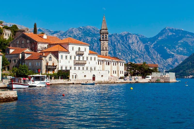 Perast city, Montenegro royalty free stock images