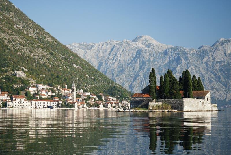 Download Perast In Kotor Bay Montenegro Stock Photo - Image of europe, montenegro: 20704522