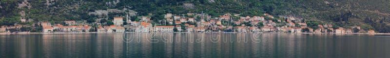 Perast Montenegro foto de stock
