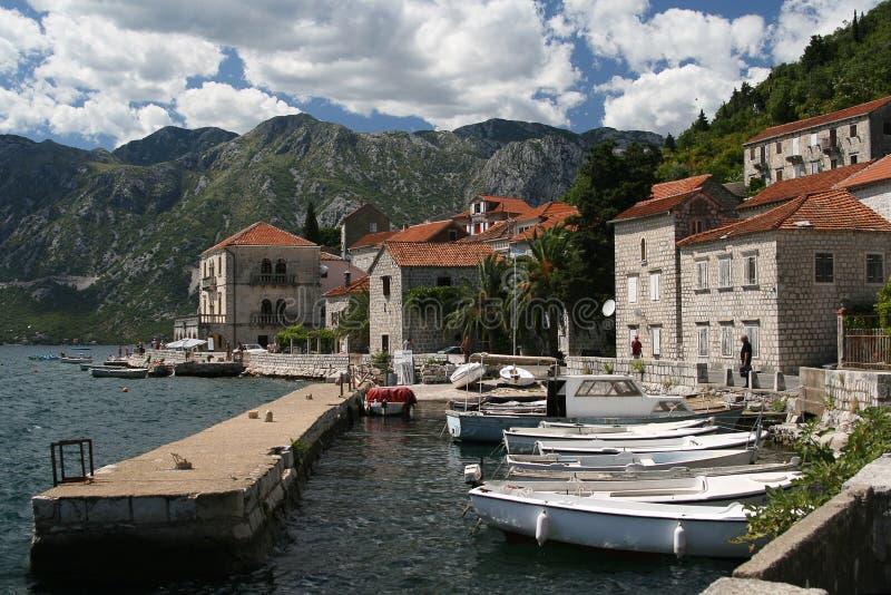 perast montenegro стоковая фотография rf