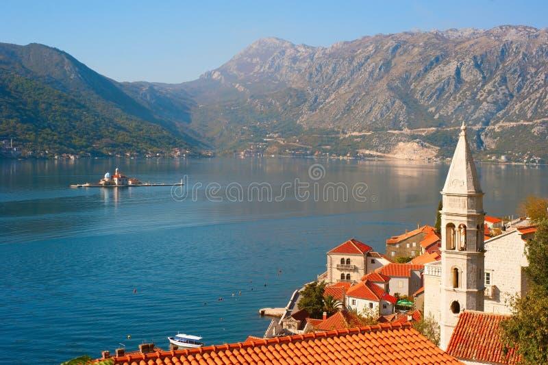 Perast, Montenegro royalty-vrije stock afbeeldingen