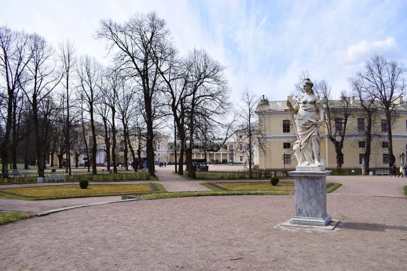 Percelen van het Pavlovsky-Paleis royalty-vrije stock foto's