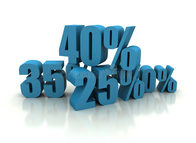 Download Percent - Discount Illustration Stock Illustration - Image: 17177435