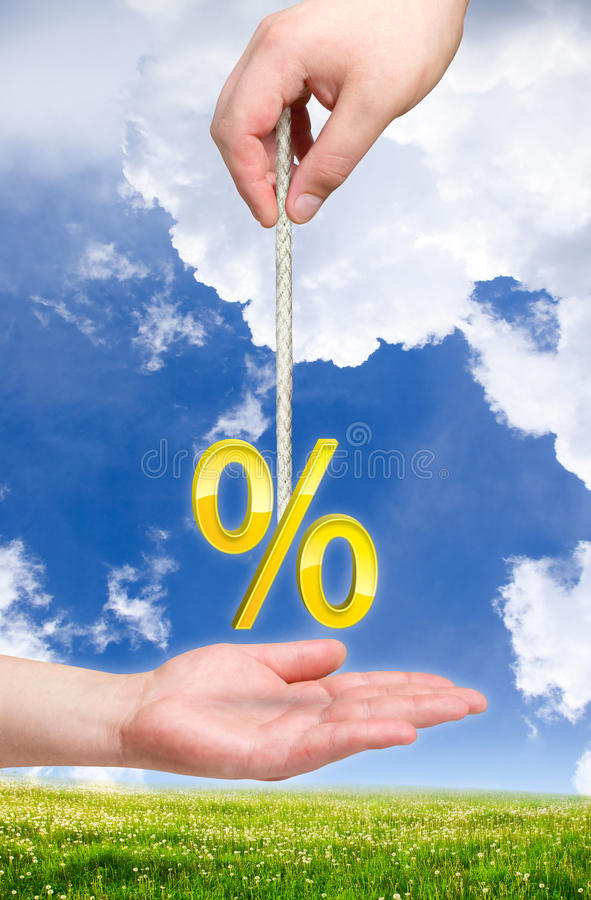 Free Percent On The Rope Stock Photos - 17369063