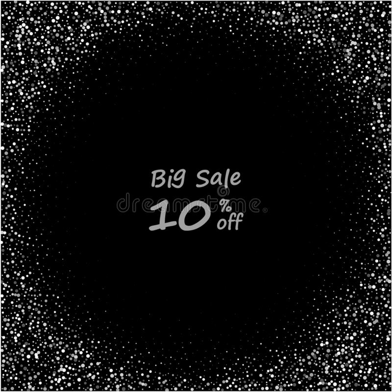 10 percent sale. mega sale. discount card. bonus card. coupon. eps 10 stock illustration