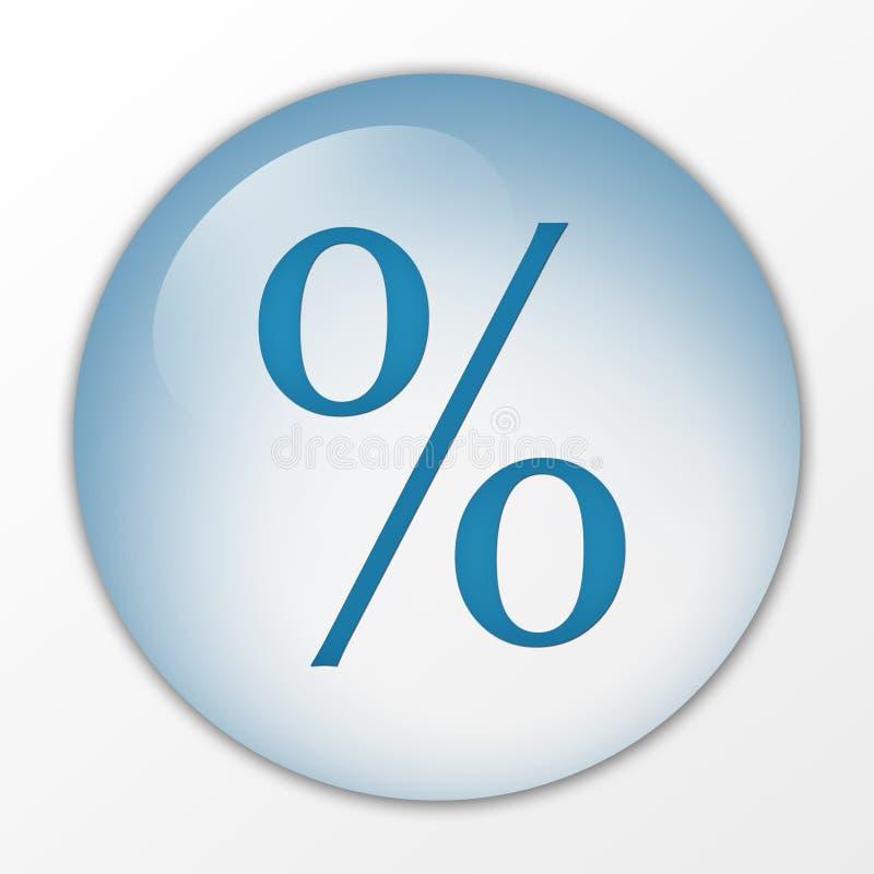 Download Percentage, Percent, Con, Web Button, Board, Hoarding, Push Button, Switch, Symbol, Sign, Logo Stock Illustration - Image: 1382958
