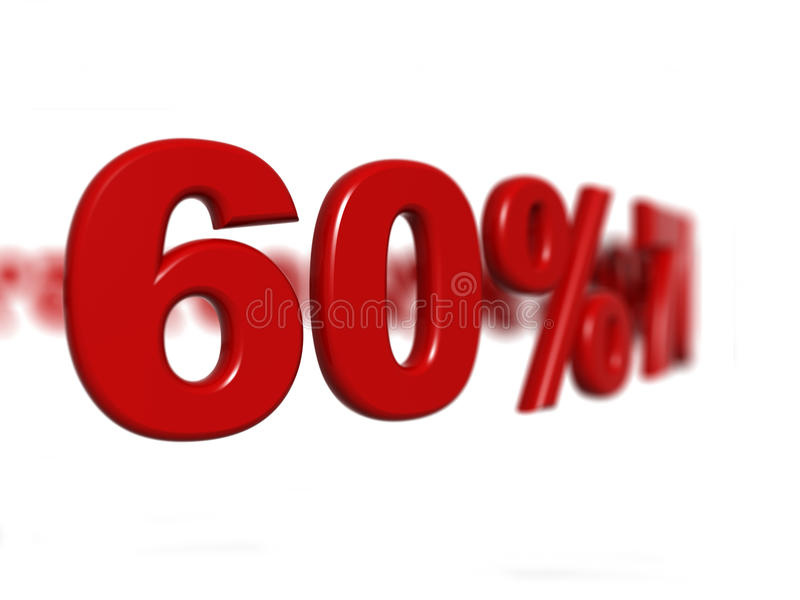 Download Percentage sign stock illustration. Image of reduction - 13658313