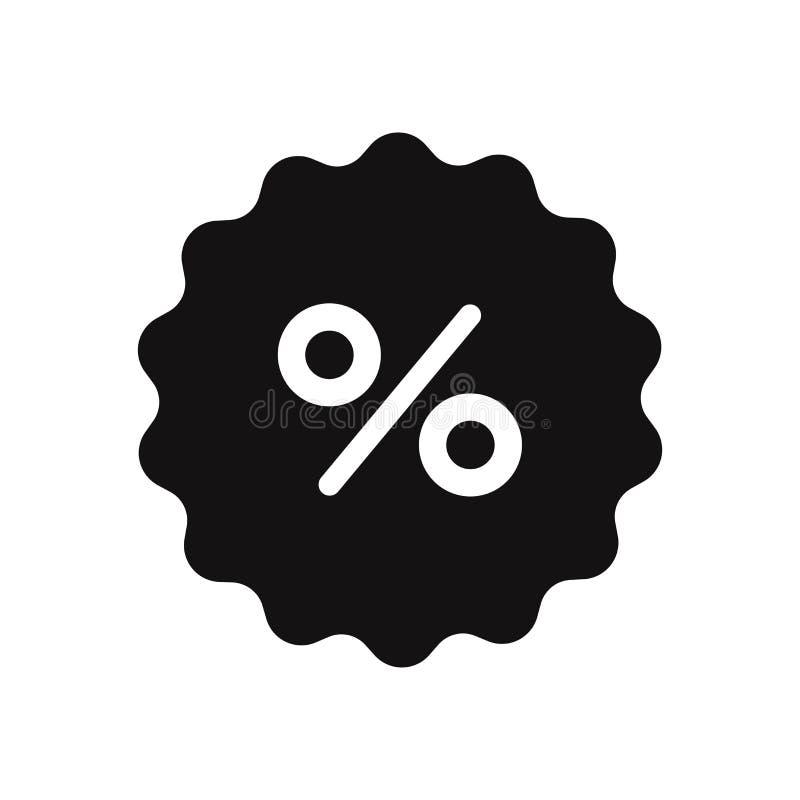 Percentage vector icon. Sign in trendy design style, vector illustration, EPS10. vector illustration