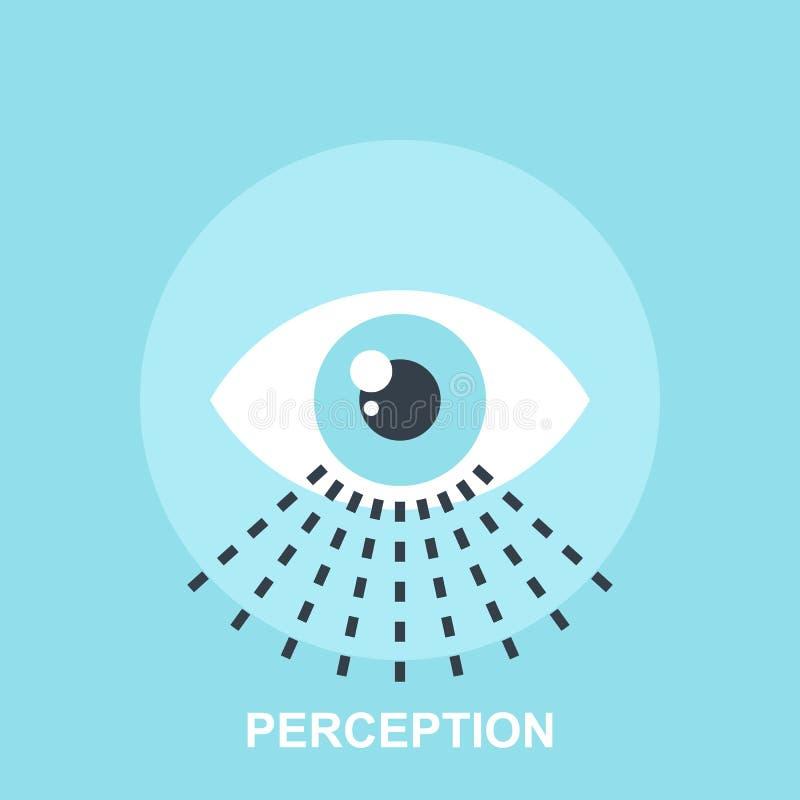 percepção ilustração do vetor