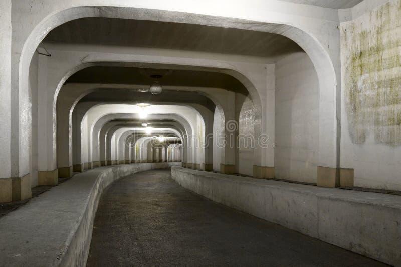 Percez un tunnel, la Corée du Sud images libres de droits