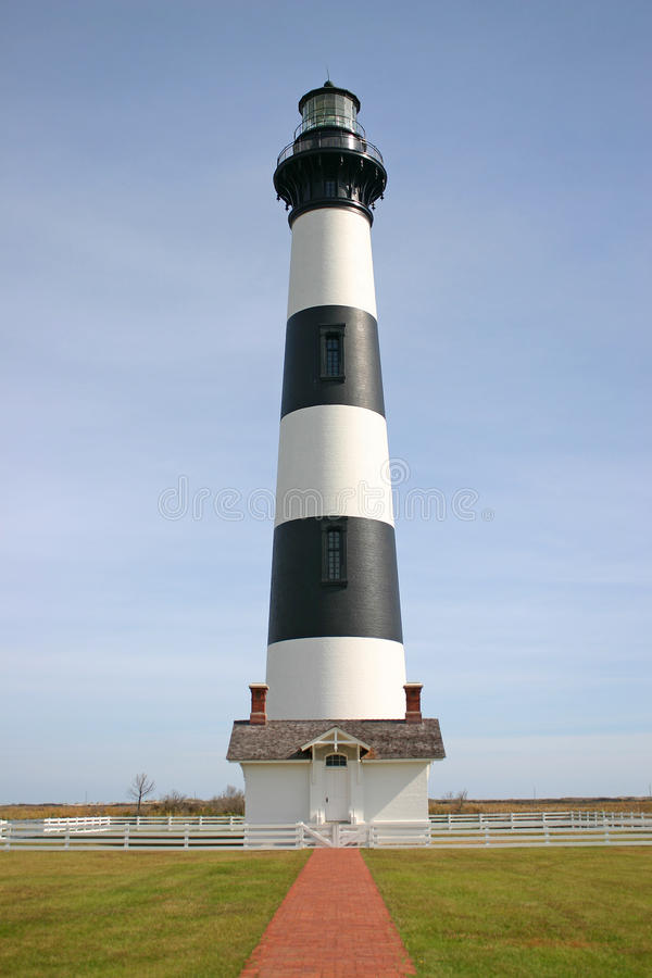 Percorso a Bodie Island Lighthouse fotografie stock libere da diritti