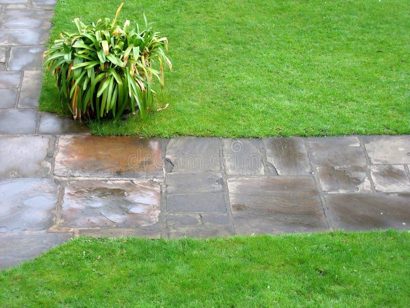percorso del giardino immagine stock