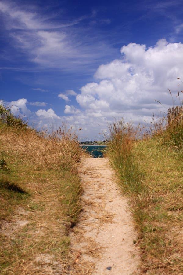 Percorso della duna immagini stock libere da diritti