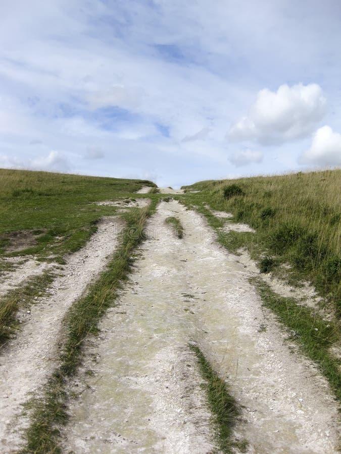 Percorso ridgeway Inghilterra delle colline di Chiltern fotografie stock libere da diritti