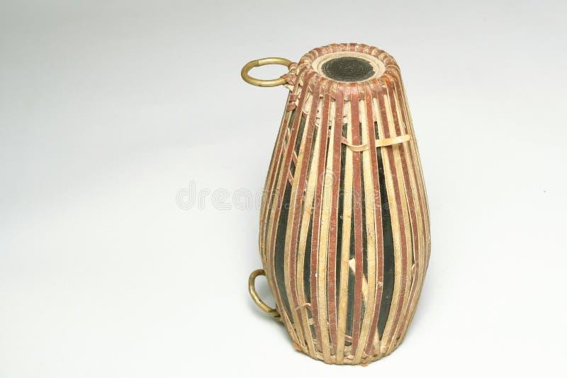 A percussão, Dhol indiano gosta do cilindro fotografia de stock royalty free