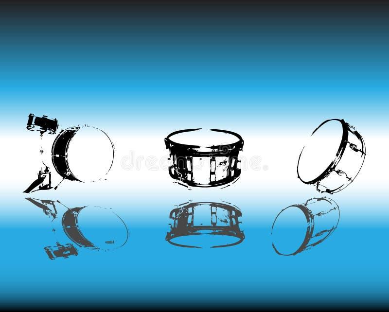 Percussie vector illustratie