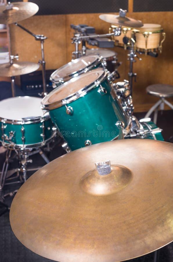 Percussion kit stock image