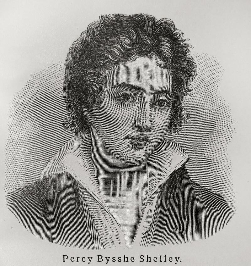 Percy Bysshe Shelley Editorial Stock Photo