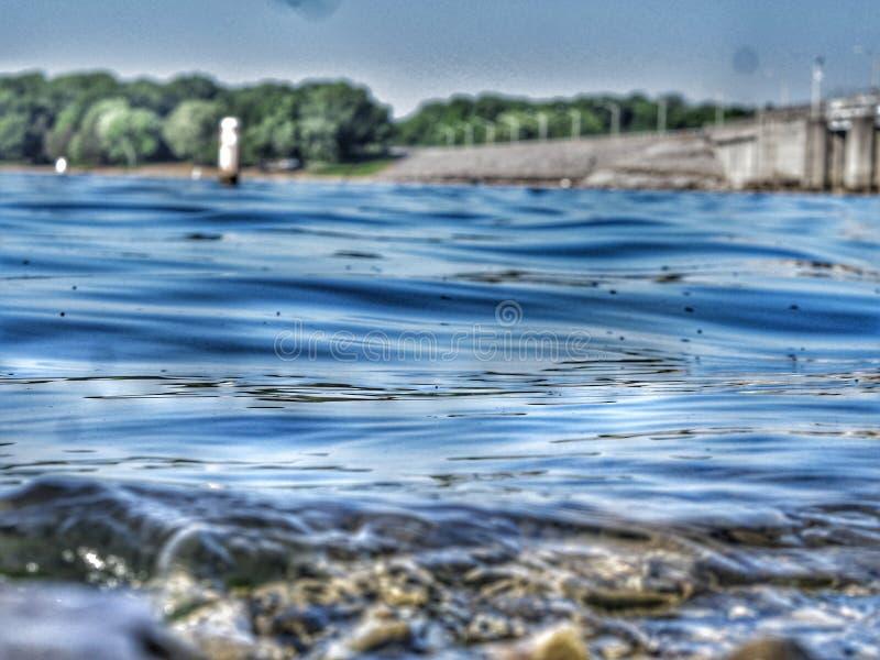Percy Priest Lake fotografía de archivo libre de regalías
