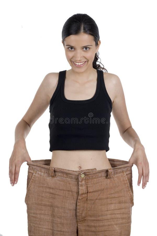 Perda de peso fotografia de stock