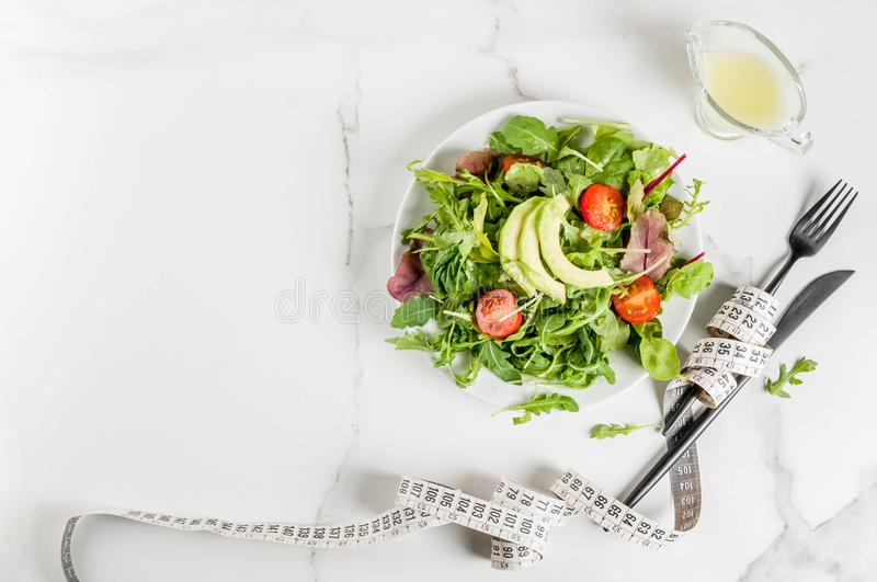Perda de peso e conceito da dieta foto de stock royalty free