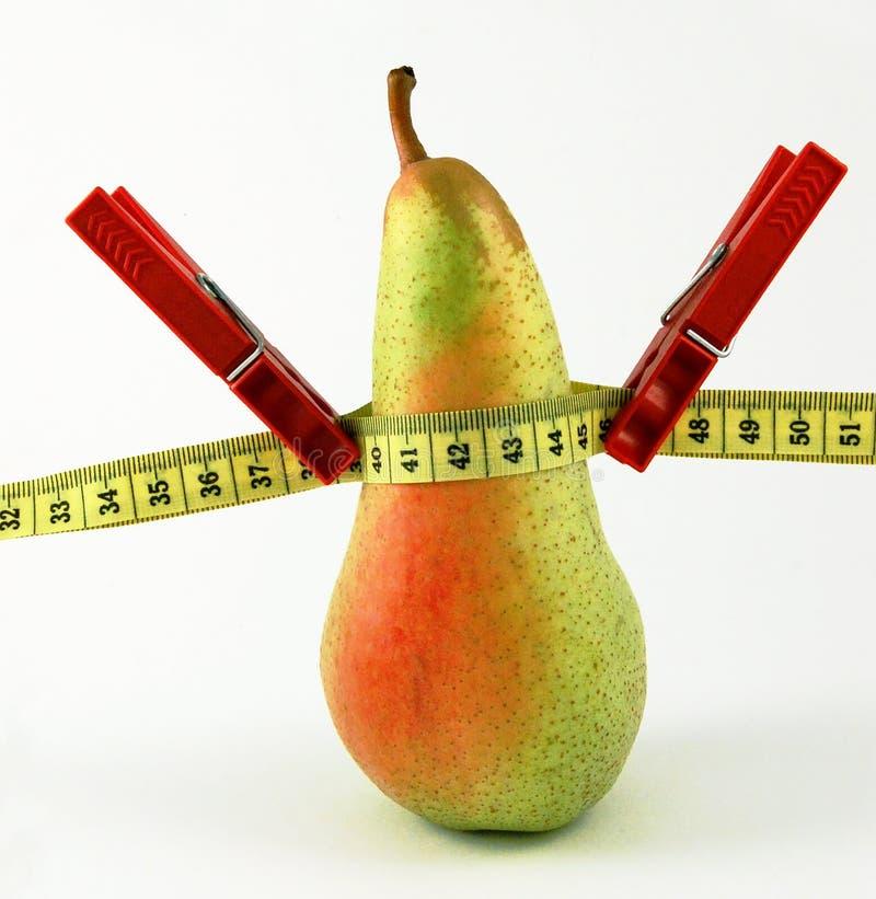 Perda de peso saudável imagem de stock