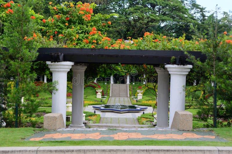 Perdana Lake Gardens royalty free stock images